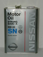 NISSAN Strong Save X 5w30,4л