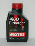 Motul 4100 Turbolight 10w40,1л