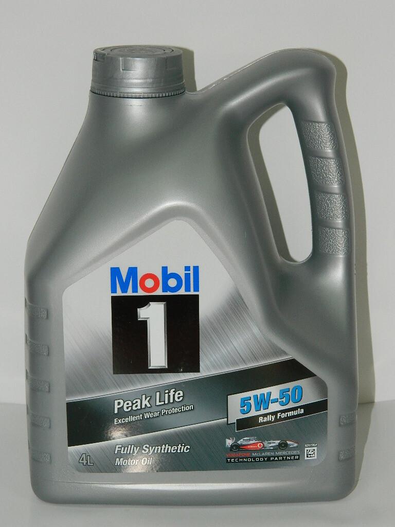 Mobil Peak Life 5W50 Купить